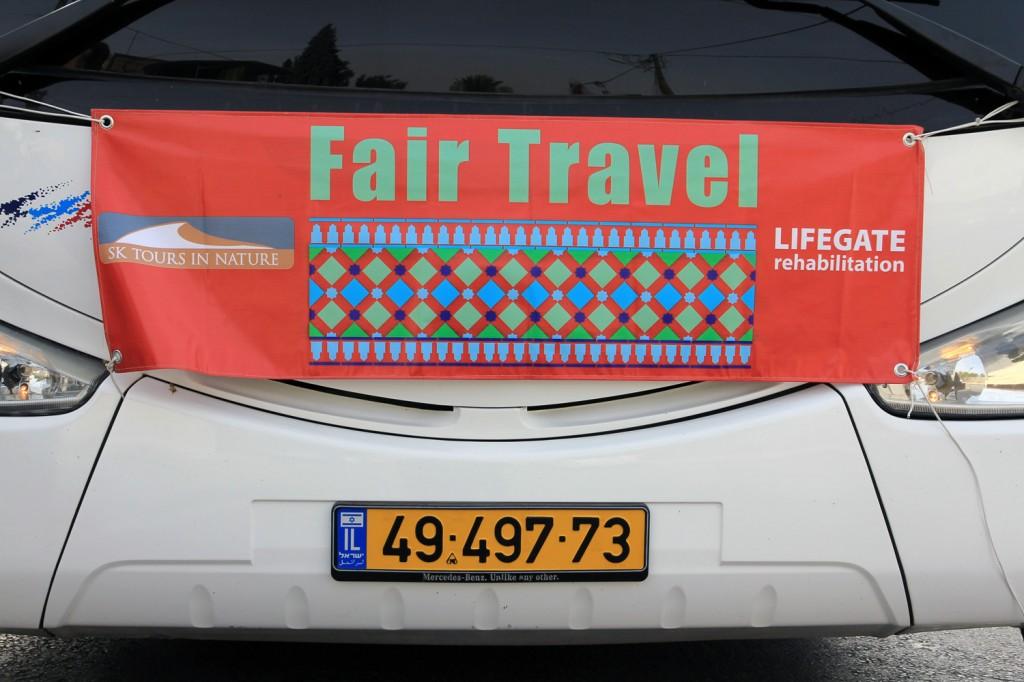 Fair Travel: Eine Kooperation zwischen einer israelischen und einer palestinensischen Initiative.
