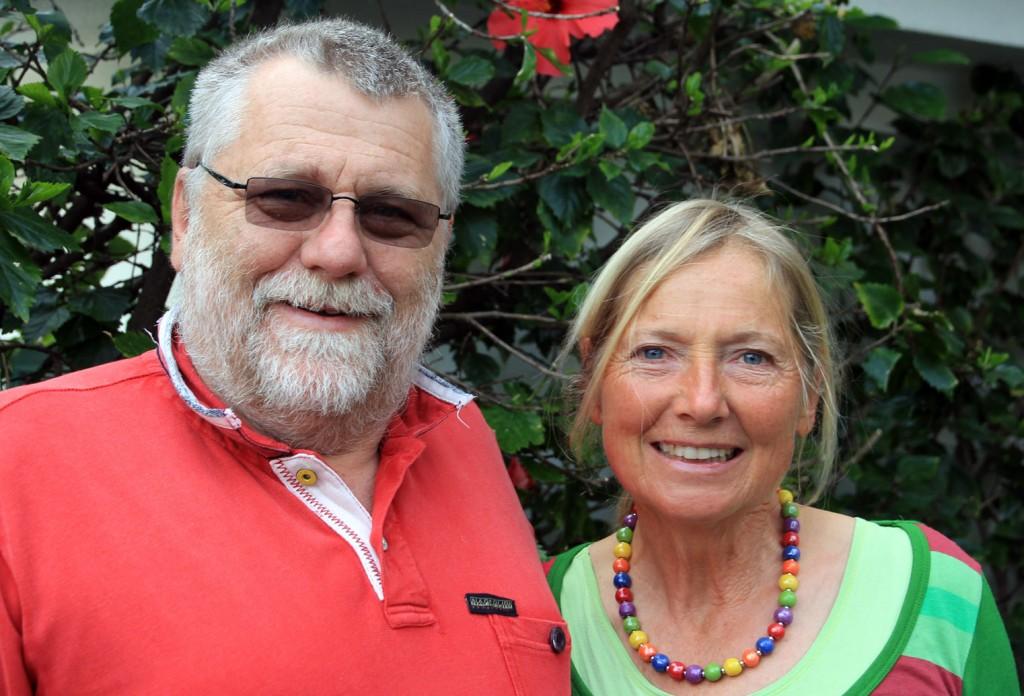 """Gerald Bretterbauer und Christa Dornfeld in """"ihrer"""" Wahlheimat Madeira"""