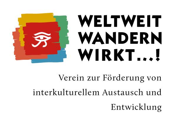 Unser nagelneues Weltweitwandern Wirkt! Vereins- Logo. Danke Philipp Kanape von En Garde!