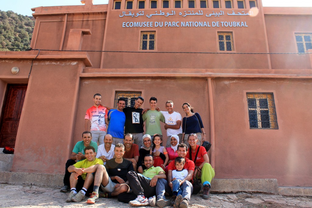 Gemeinsamer Besuch des Eco-Museums im Nationalpark Toubkal