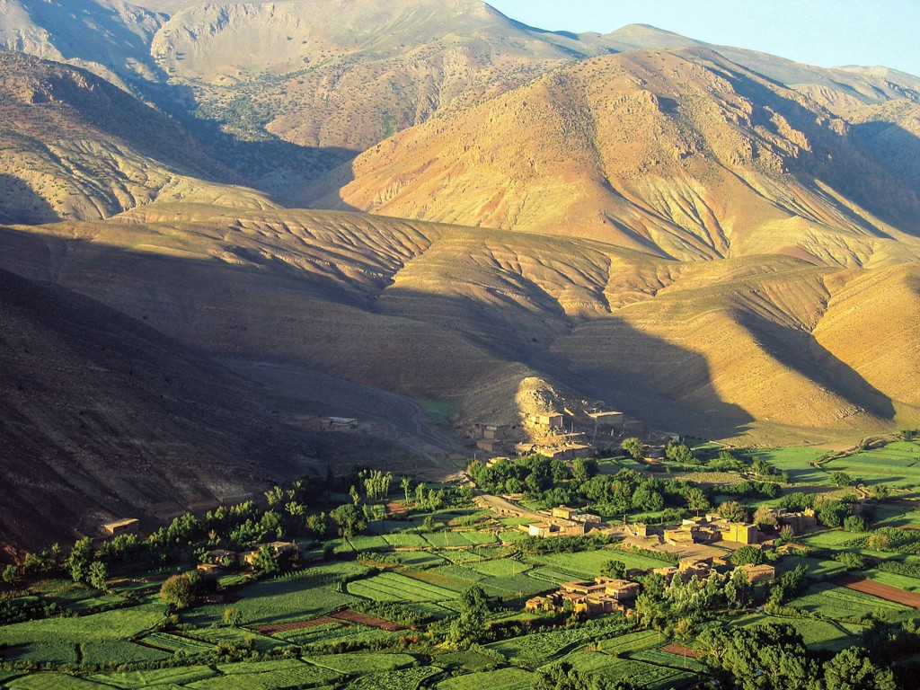 Das Tal von Ait Bougmez im Hohen Atlas von Marokko ist die Heimat unseres Marokko-Partners und Freundes Lahoucine