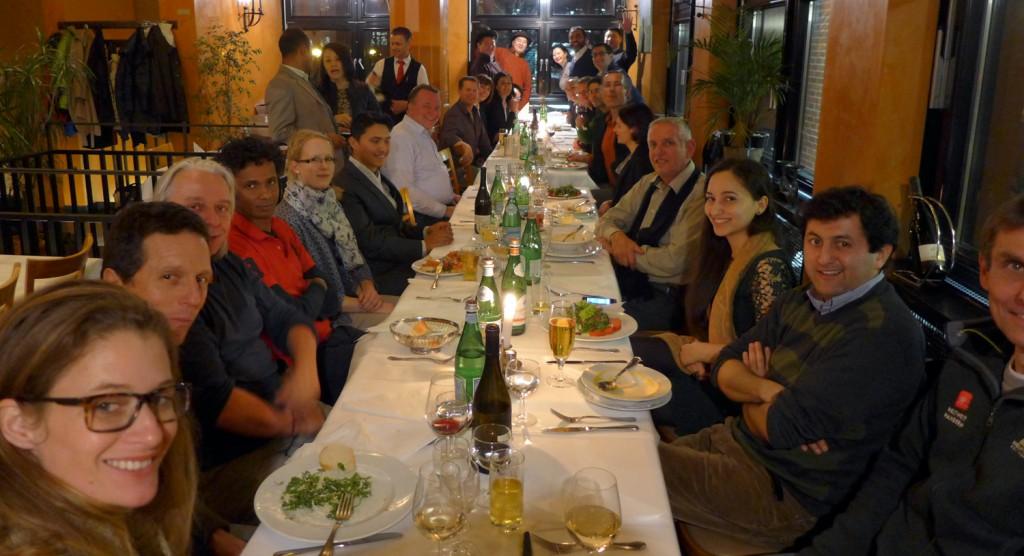 Das WWW-Partnertreffen in Berlin 2015. 35 Partner aus 20 Ländern friedvoll an einem Tisch!