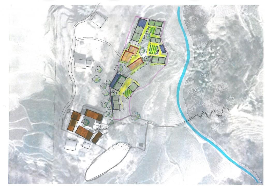 Die drei Wohndörfer sollen etappenweise errichtet werden um nach und nach mehr Kinder in das Waisenhaus aufnehmen zu können.