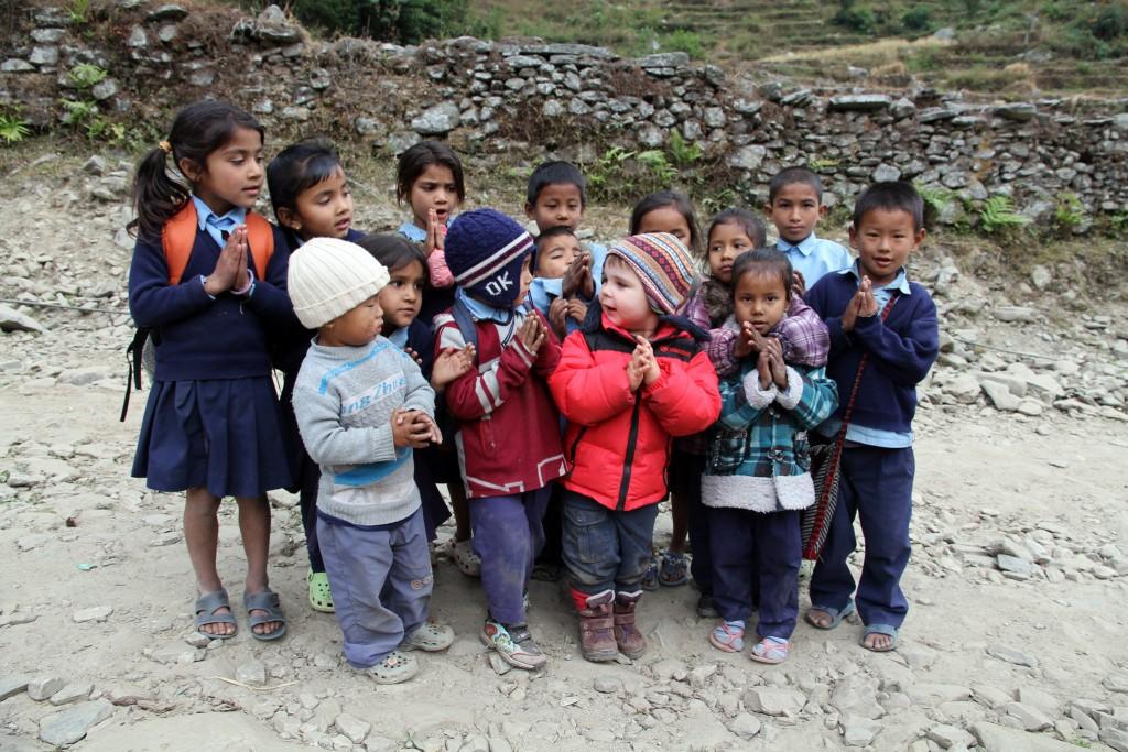 Die große Offenheit, Freundlichkeit und vor allem auch Aufmerksamkeit vieler Nepalesen ihren Gästen gegenüber ist wirklich berührend.