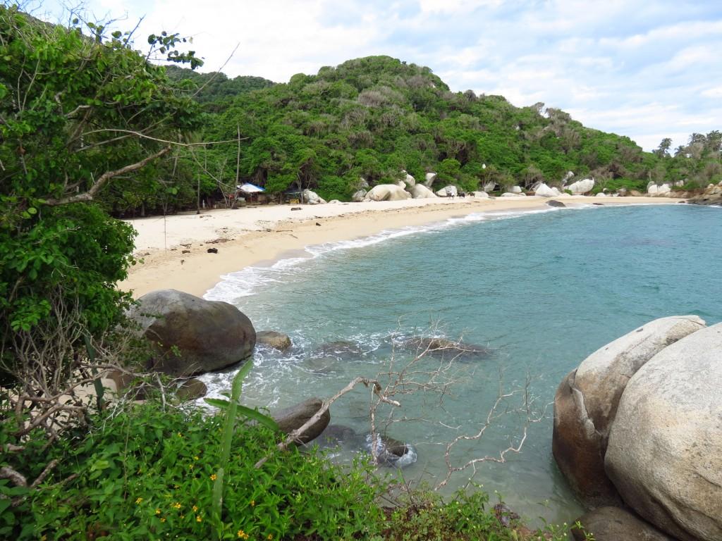 Traumstrände an der Karibik-Küste im Nationalpark Tayrona