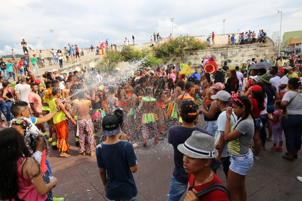 Kolumbianische Lebenslust beim Karneval von Cartagena